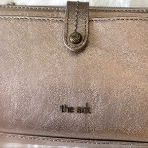 The Sak Bags - The Sak Iris Silver Convertible Wallet / Crossbody